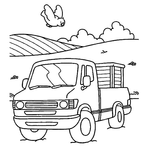 600x600 Mercedes Benz Car Transporter Coloring Pages Best Place To Color