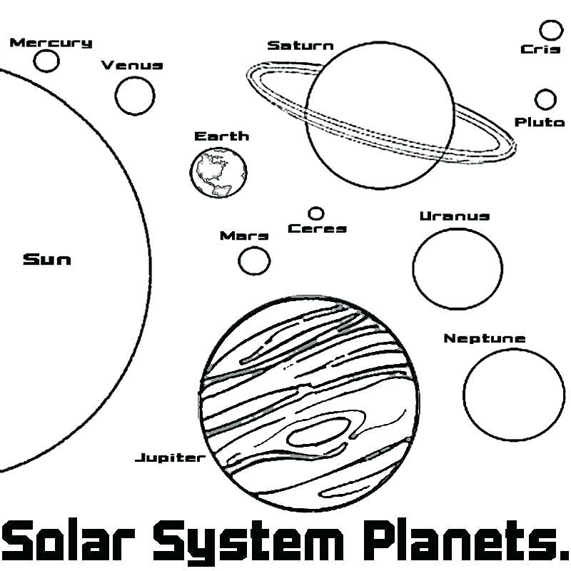 800x800 Planet Coloring Pages Planet Coloring Pages Planet Mercury