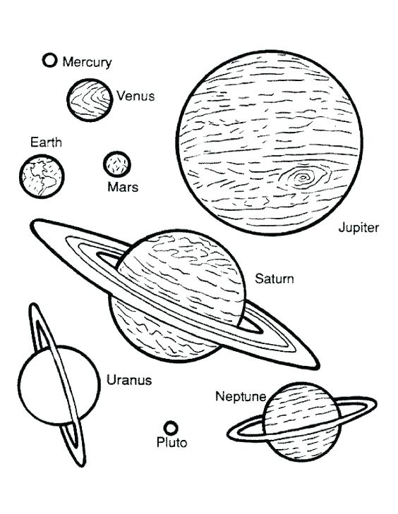 564x729 Planets Coloring Pages Planet Coloring Pages The Nine Planets