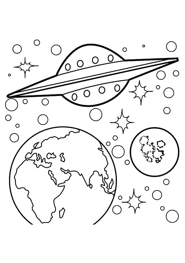 595x842 Mercury Coloring Page Mercury Is The Closest Planet To The Sun