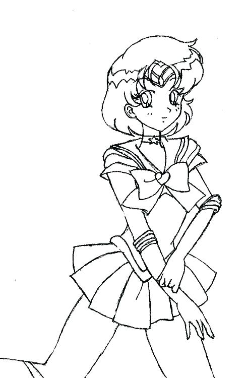 490x750 Mercury Coloring Page