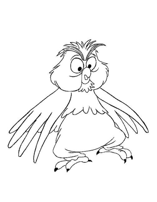 504x647 Kids N Coloring Pages Of Merlin The Wizard
