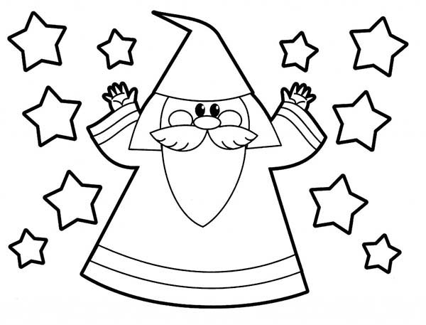 600x457 Little People Merlin The Witch Coloring Pages Batch Coloring