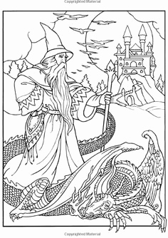 236x334 Amazon Amy Brown Faeries Coloring Book Amy Merlin Coloring Pages