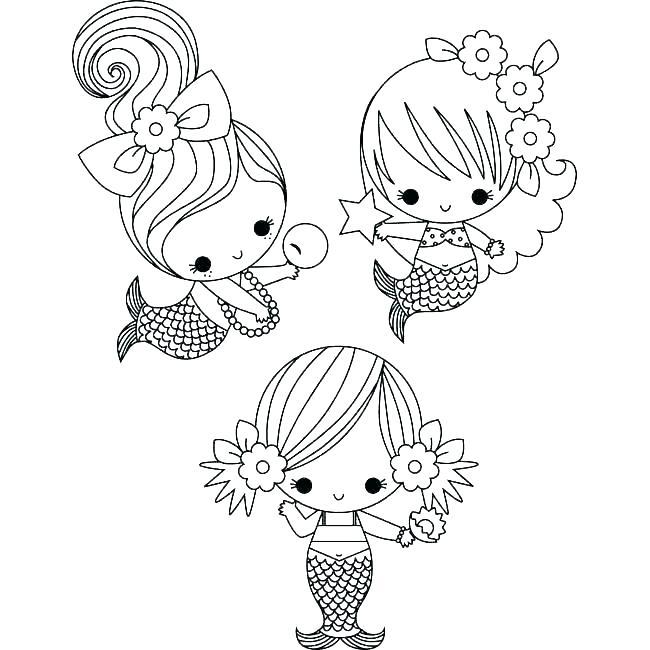 650x650 Dora Mermaid Coloring Pages Printable Little Mermaid Coloring