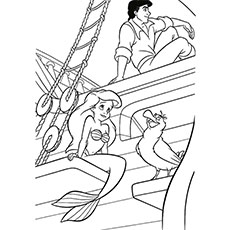 230x230 Top Free Printable Little Mermaid Coloring Pages Online