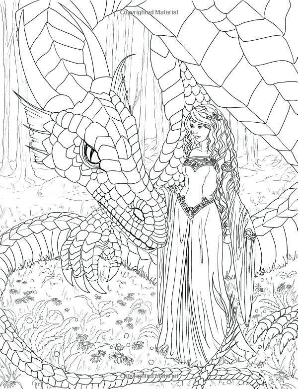 600x783 Mermaid Coloring Pages For Adults Free Printable Mermaid Coloring