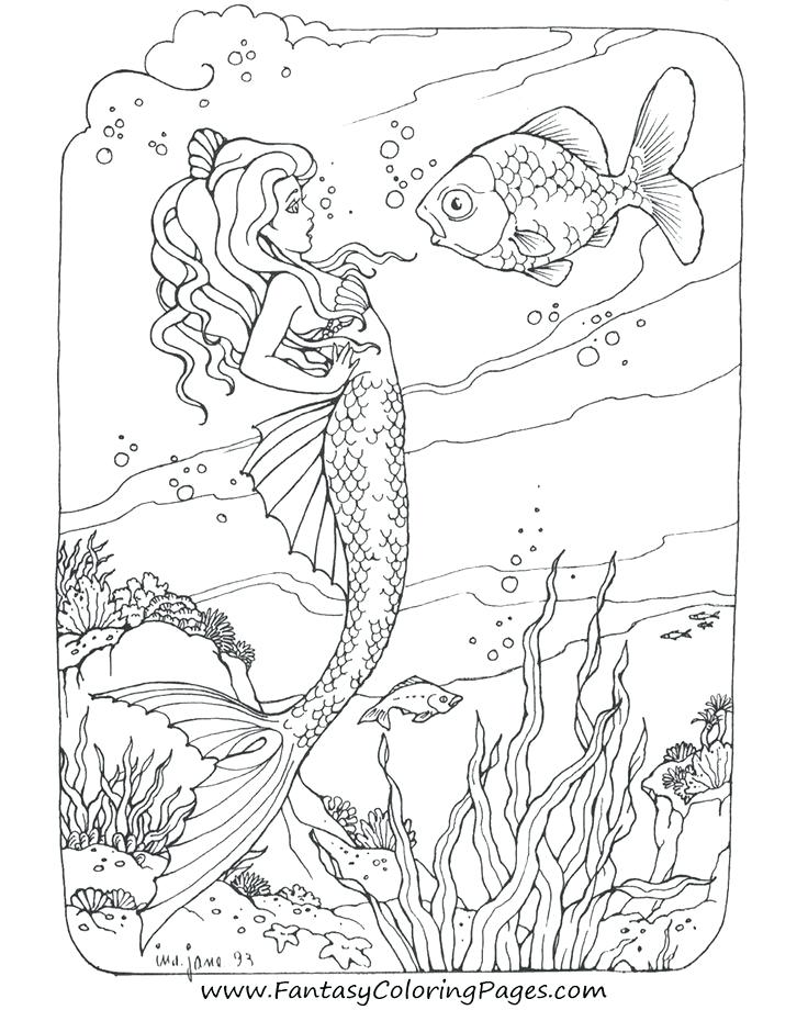 736x920 Mermaid Coloring Pages Ideas About Mermaid Coloring On Printable