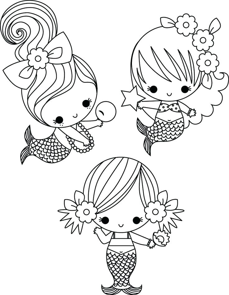 736x947 Cute Coloring Sheets Awesome Cute Mermaid Coloring Pages For Your