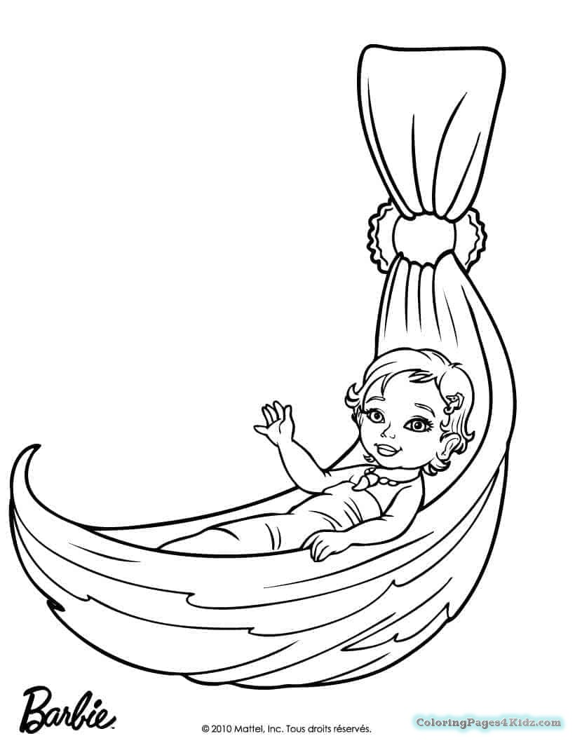 820x1060 Easy Barbie Mermaid Coloring Pages Coloring Pages For Kids
