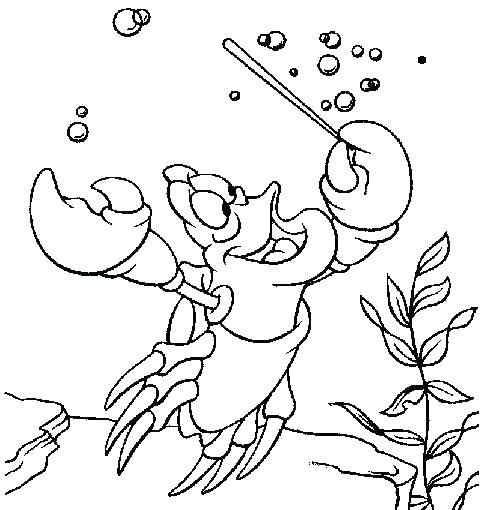 490x510 Little Mermaid Coloring Pages The Little Mermaid Coloring Pages