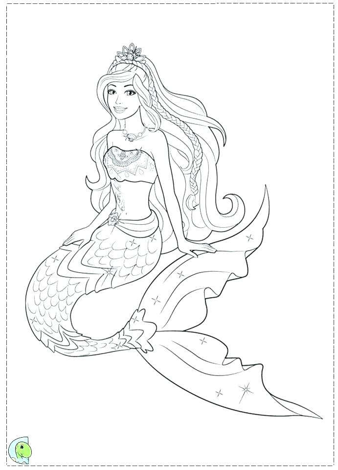 691x960 Mermaid Color Pages Printable Mermaid Coloring Pages Amazing
