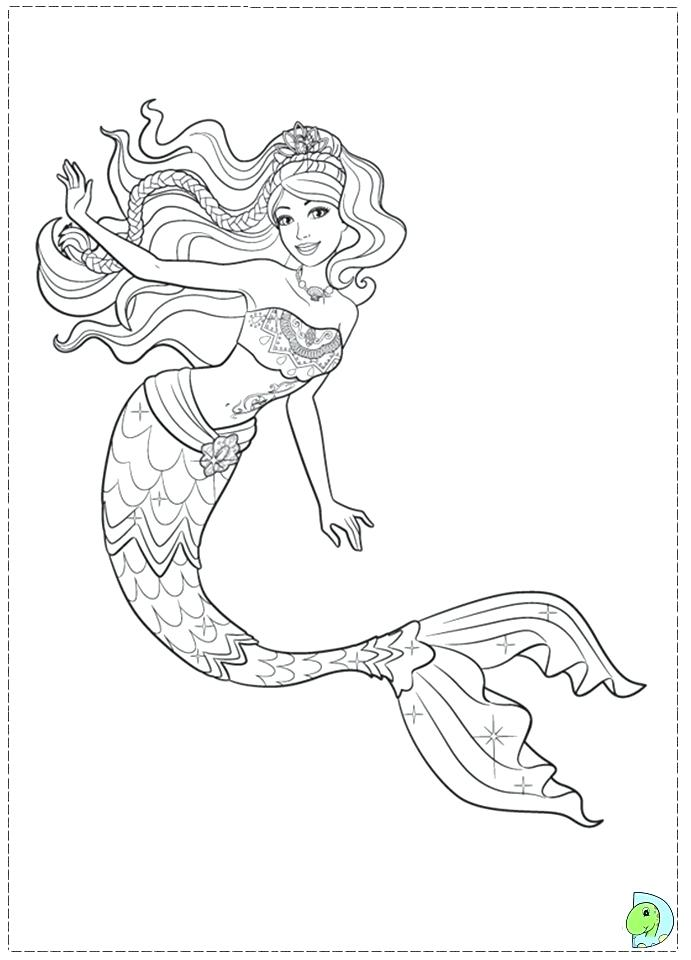 691x960 Barbie And Friends Coloring Pages Coloring Pages New E Mermaid