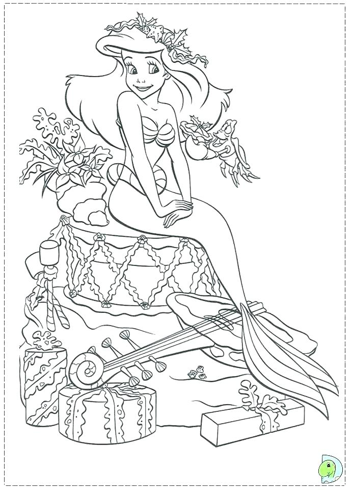 691x960 The Little Mermaid Coloring Pages Princess Mermaid Coloring Pages