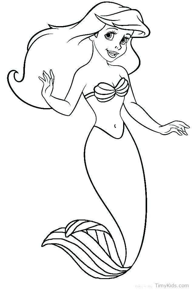 633x955 Free Coloring Pages Mermaids