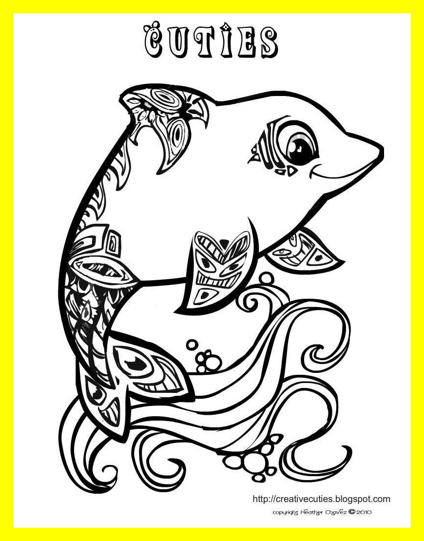 870x1110 Best Dolphin Coloring Page Lots Of Other Really Cute With Mermaid