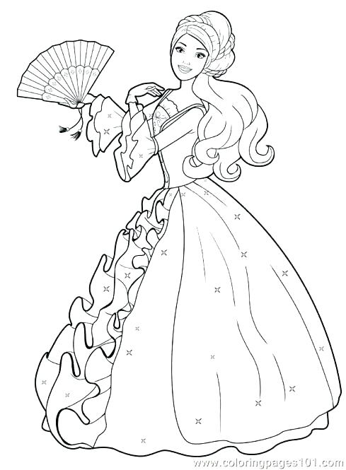 489x665 Fairy Princess Coloring Pages