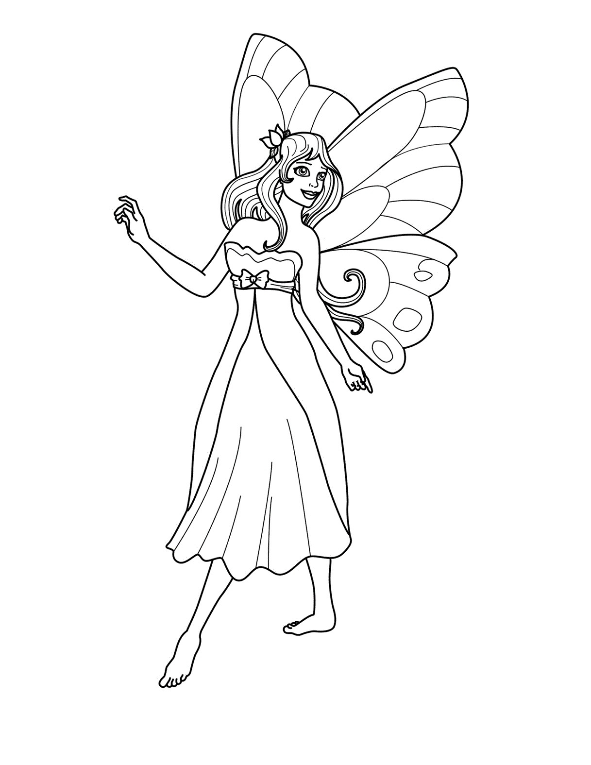 1217x1575 New Cartoon Fairies Coloring Pages Collection Printable Coloring