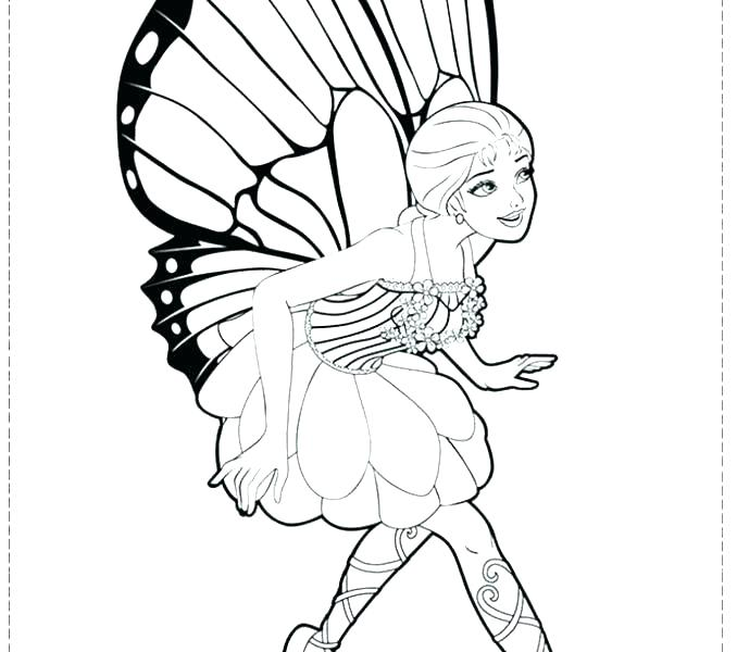 678x600 Princess Fairy Coloring Pages Barbie Fairy Coloring Pages Princess