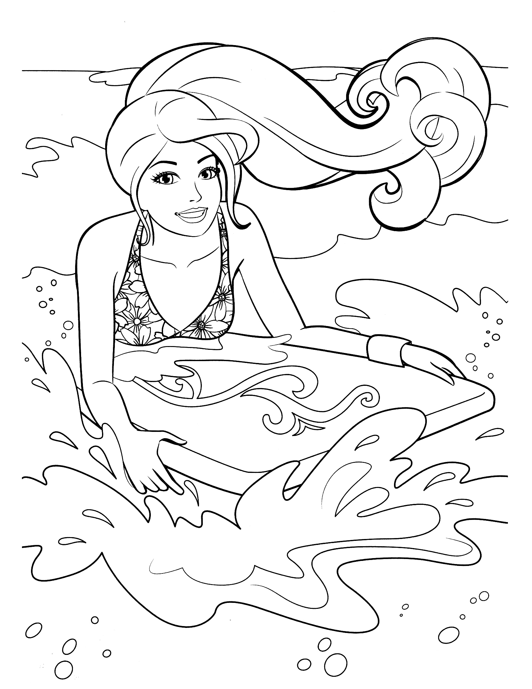 1700x2200 Fresh Barbie Fairy Coloring Pages Mermaid Coloring Pages Girls