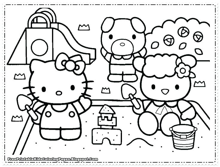 736x559 Coloring Pages For Girls Free Hello Kitty Coloring Pages For Girls