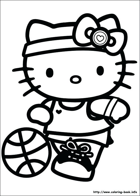 567x794 Pages Pages Hello Kitty Coloring Pages On Coloring Book Printable