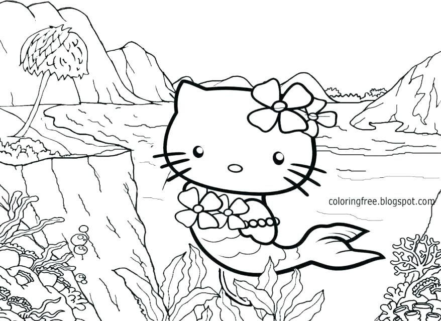 878x639 Sanrio Coloring Pages Classy Coloring Pages Print Remarkable