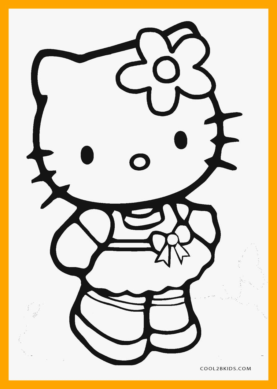 906x1272 Unbelievable Printable Hello Kitty Coloring Pages For Melody