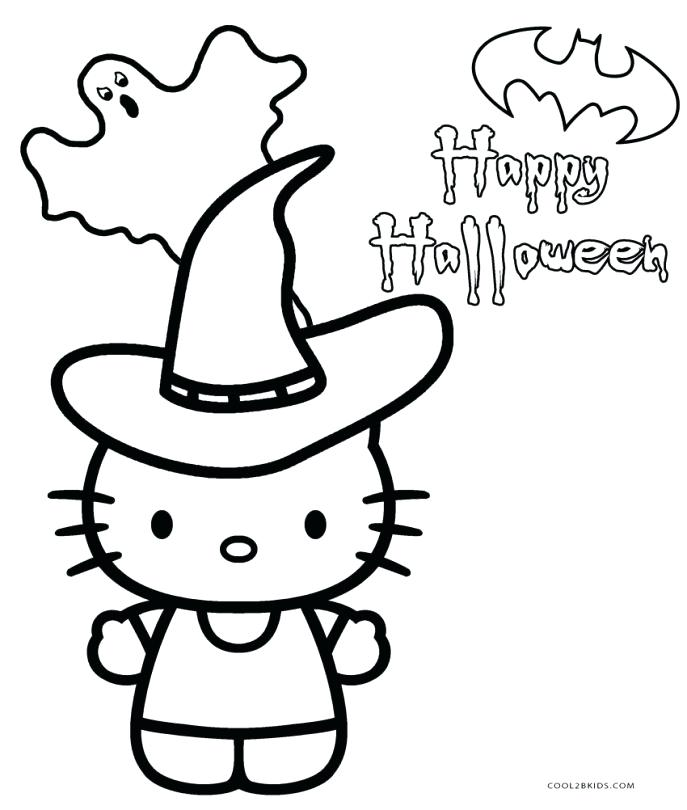 687x810 Printable Hello Kitty Coloring Pages