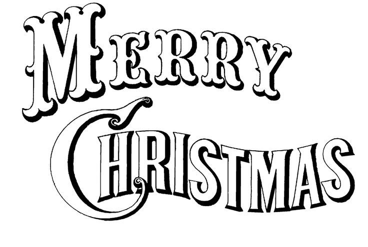736x495 Merry Christmas Coloring Pages