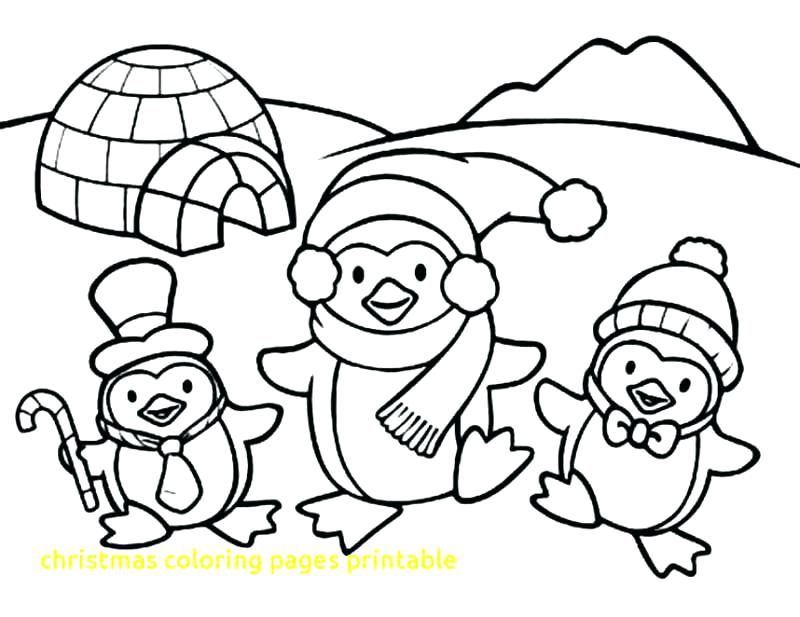 800x617 Christmas Coloring Pages To Print Also Merry Coloring Page