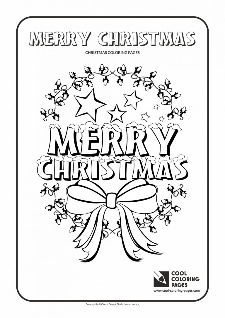 768x1086 Image Result For Coloring Pages That Say Merry Christmas Planner