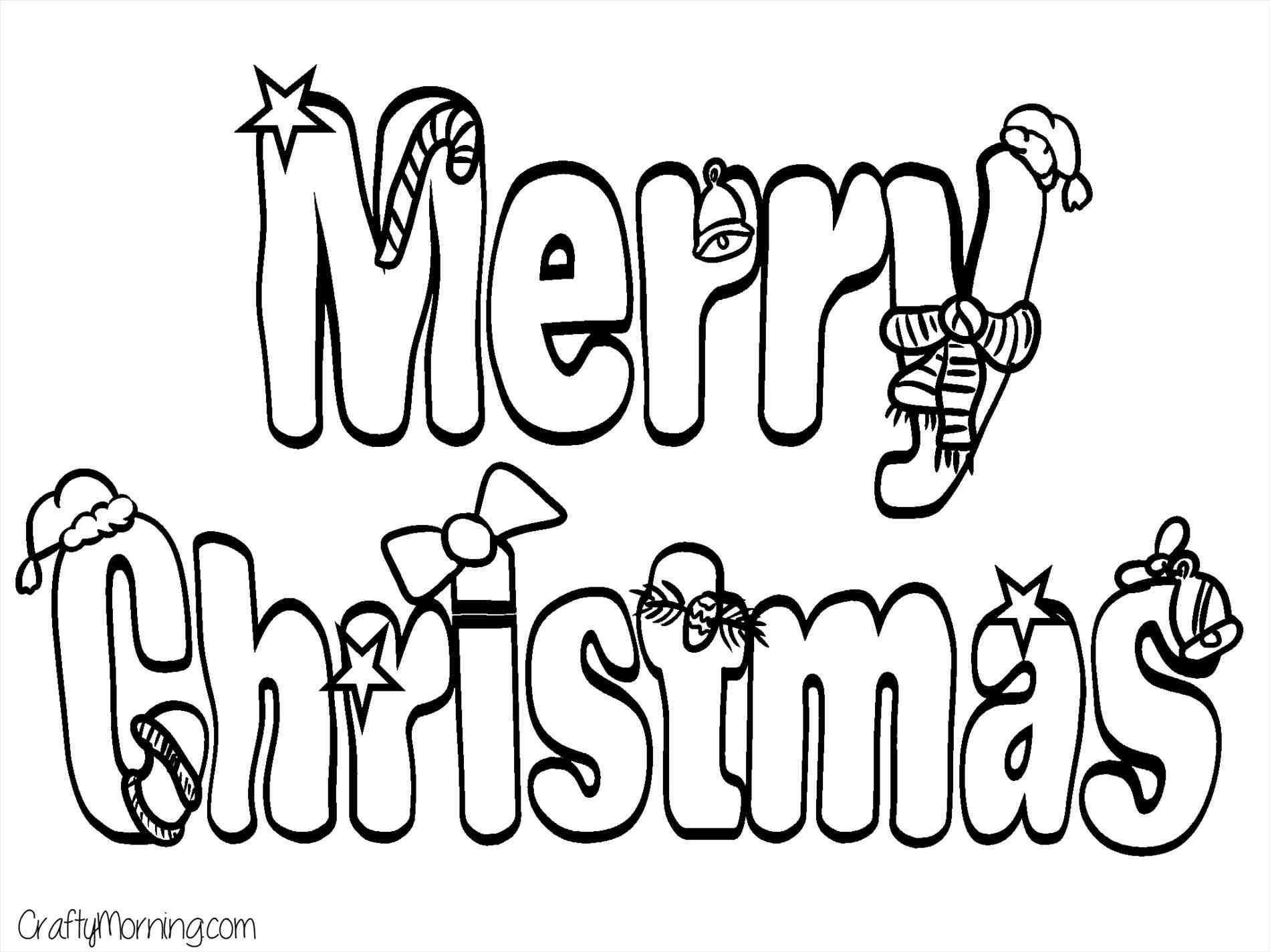 1900x1425 That Say Merry Christmas Have Yourself A Little Page Coloring