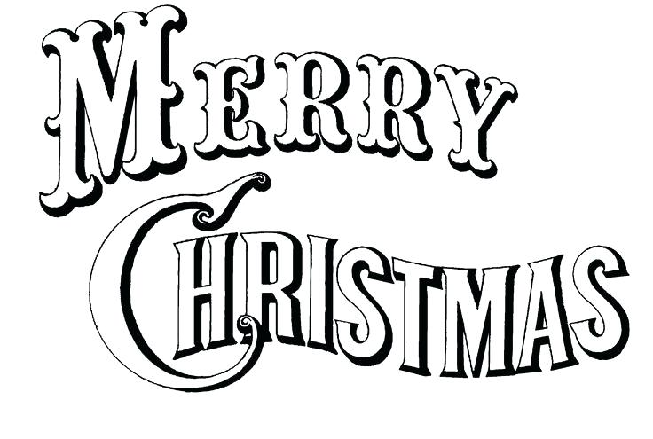 736x495 Merry Christmas Coloring Pages Printable