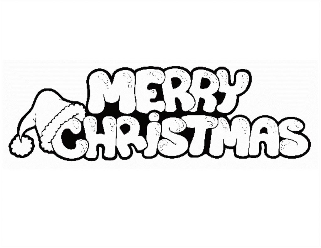 1024x791 Disney Merry Christmas Coloring Pages