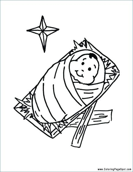 463x600 Jesus Christmas Coloring Pages Coloring Pages Printable Primary