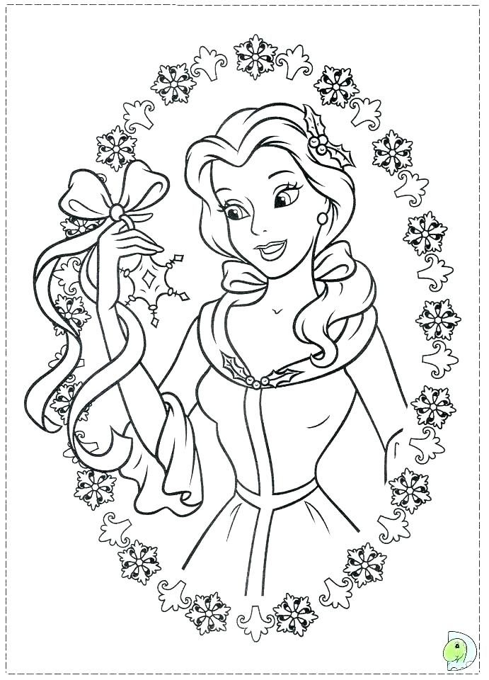 691x960 Christmas Coloring Pages Printables