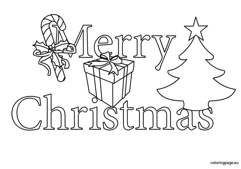 822x575 Black And White Christmas Pictures To Color Merry Christmas