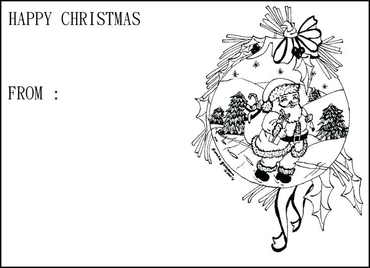 736x534 Christmas Cards Coloring Pages Card Coloring Pages Coloring Cards