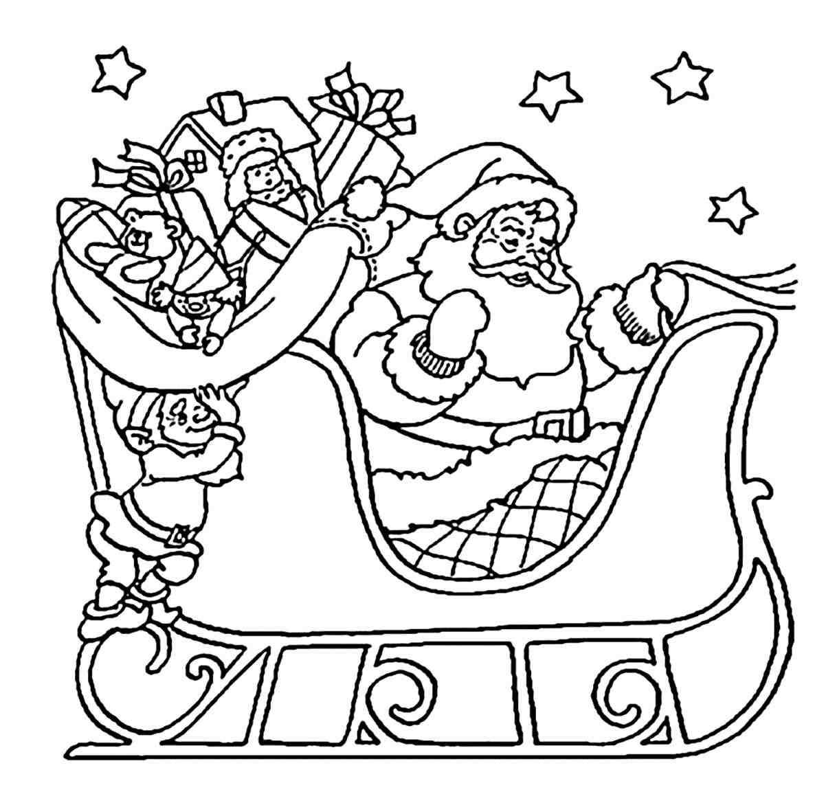 1202x1172 Printable Detailed Christmas Coloring Pages Free Coloring Pages