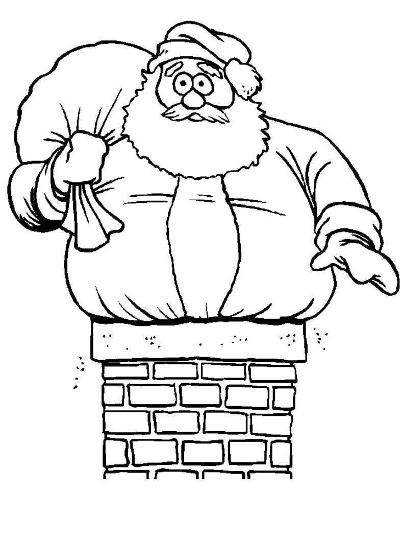 790x1053 Unique Cartoon Christmas Coloring Pages Design Printable