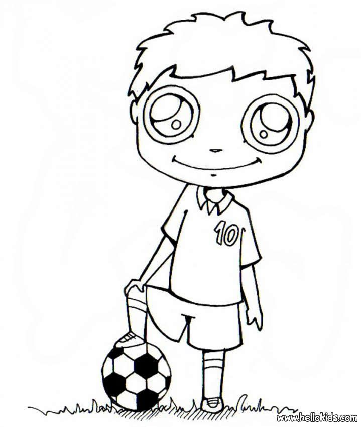 723x850 Soccer Messi Coloring Pages