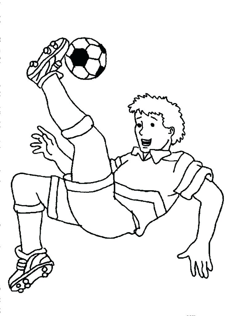 737x1024 Soccer Player Coloring Page Soccer Coloring Pages Soccer Coloring
