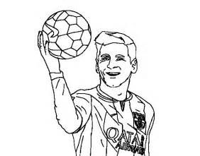 282x221 Coloring Pages Messi