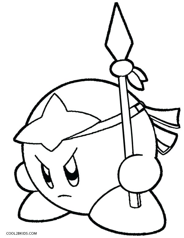 600x774 Kirby Coloring Sheets Kirby Coloring Pages Meta Knight