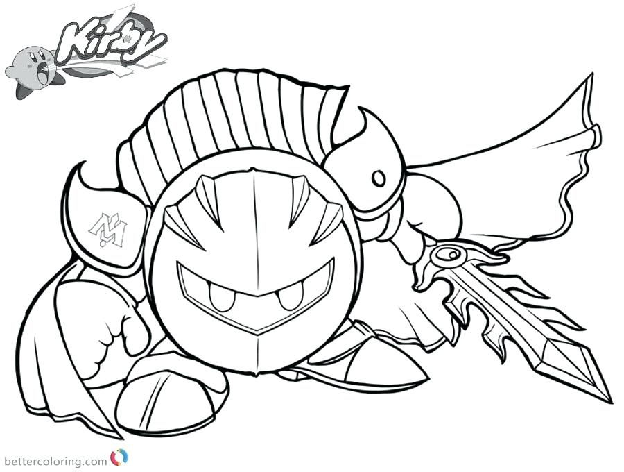 900x680 Kirby Coloring Pages Download This Coloring Page Kirby Coloring