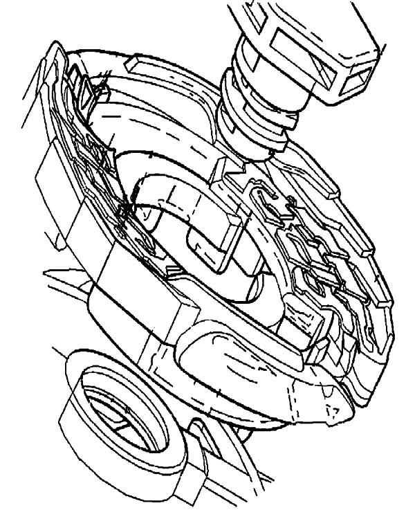 600x737 Beyblade Metal Masters Coloring Pages Best Place To Color