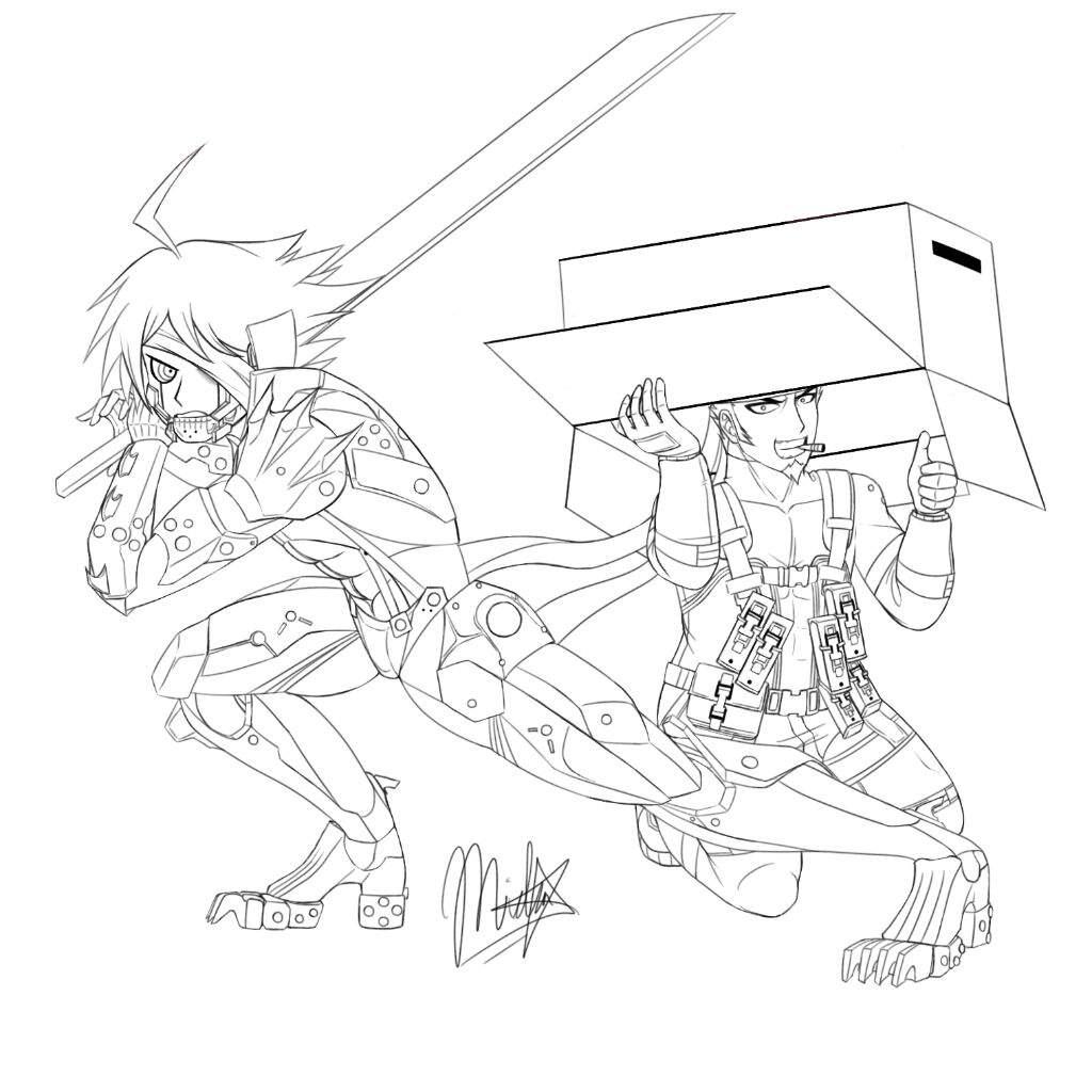 1024x1024 Danganronpa X Metal Gear Solid Danganronpa Amino
