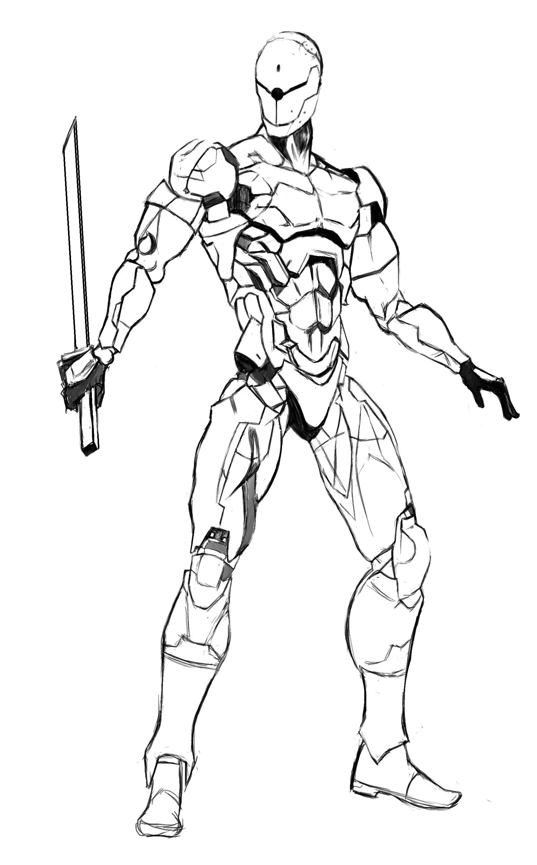 1800x2900 Gray Fox Armure Foxes, Metal Gear Solid And Metal Gear