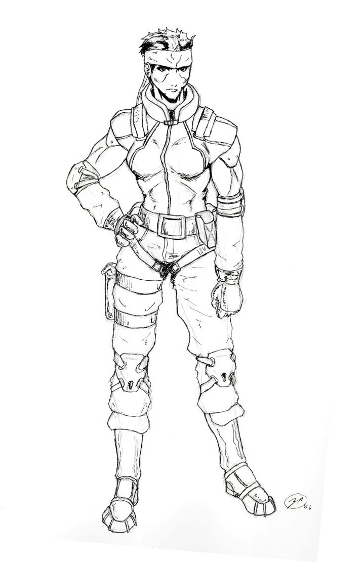 719x1111 Metal Gear Gender Swap Solid